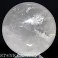 ☆高級一点物☆【天然石置き石】丸玉 レインボー水晶 約97mm No.25【天然石 パワーストーン】