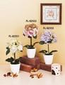 クリエイティブフラワーアート【★リーズナブルプライス★】造花フラワー<造花&陶器>