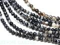 【天然石丸ビーズ】ブラックサードオニキス (ブラジル産) 4mm (数量限定商品)【天然石 パワーストーン】
