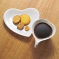 ハート型の器です。■【食器】小田ココロ カップ&ソーサー