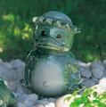 ■常滑焼【ガーデンアクセサリー】開洋カッパ緑