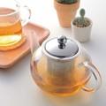 ■【耐熱硝子】ティーポット(茶こし付き)