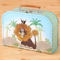 【クルテク】スーツケース ライオン柄(M)