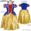《セール》KIDS☆ハート柄の白雪姫ドレスコスチューム【キッズ/プリンセス/クリスマス】