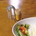☆SALE☆ スタイリッシュなガラス製つまようじ入れ *【PICK】ピック * 彩りキッチングッズ