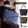 【SALE】【HOUSTON】リネンバッグイントートバッグ
