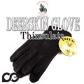 811TL NAPAGLOVE BLK DEERSKIN DRIVER  EXTRA WARM THINSULATE  15102