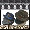 ★秋冬7カラー♪NEWYOR HAT #5319 THE FEDORA 15143