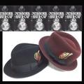 ★秋冬2カラー♪NEWYORK HAT#5329 TEAR DROP STINGY FFEDORA 14308