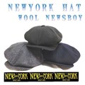 NEWYORK HAT #9035 WOOL NEWSBOY 14117