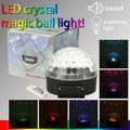 【LEDクリスタルミュージックボールライト】LEDエフェクトボール