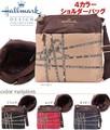 【人気商品】【Hallmark】ホールマーク リボン柄 ショルダーバッグ