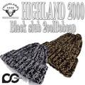 ★秋冬新作♪ HIGHLAND2000 BLKSLUB+2COLBOBCAP 14978
