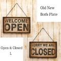 """Old New シリーズ[Both プレート """"OPEN&CLOSE""""L]"""