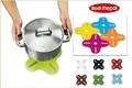『トリベット プラス』メラミンのポップでシンプルな鍋敷きです!
