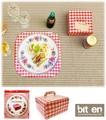 『PICNIC PACKAGE』ピクニックに最適のサンドウィッチボックス(4枚組)