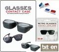 『GLASSES CONTACT CASE』メガネなのにコンタクトレンズケースです!