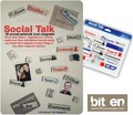 『SOCIAL TALK』レトロなアイコン型マグネット(18個セット)
