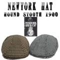 ★千鳥柄のハンチング♪ NEWYORK HAT #9018 HOUNDSTOOTH