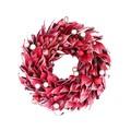 <<クリスマスリース>>★■X'mas/  Leaves & Berry Wreath S