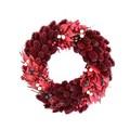 <<クリスマスリース>>★■X'mas/  Small pinecone Band Wreath M (Red)
