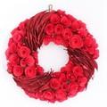 <<クリスマスリース>>★■X'mas/  Paring Eddy Wreath M (Red)