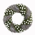 <<クリスマス>>★■X'mas/   White berry & Twig Wreath M<リース>