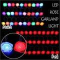 LEDローズライト WG-2401MU:マルチ/WG-2401RE:レッド クリスマスに