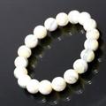 【30%OFF】【天然石ブレスレット】マザーオブパール ホワイト(10mm)ブレス【天然石 マザーオブパール】