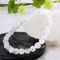【30%OFF】【天然石ブレスレット】クラック水晶(6mm)ブレス【天然石 クラック水晶】