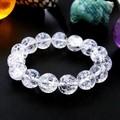 【30%OFF】【天然石ブレスレット】クラック水晶(12mm)ブレス【天然石 クラック水晶】