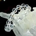 【30%OFF】【天然石ブレスレット】64面カット天然水晶(12mm)ブレス【天然石 天然水晶】