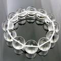 【30%OFF】【天然石ブレスレット】ハイグレード(2A級)水晶(20mm)ブレス【天然石 天然水晶】