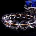 【30%OFF】【天然石ブレスレット】<ゴールドイン>最高級(2A級)水晶(20mm)ブレス【天然石 天然水晶】