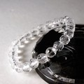 【30%OFF】【天然石ブレスレット】<蓮>彫刻水晶(8mm)ブレス【天然石 彫刻水晶】