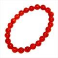 【30%OFF】【天然石ブレスレット】赤メノウ(赤瑪瑙)(8mm)ブレス【天然石 メノウ】