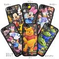 レンチキュラーケース iPhone 5s/5 ディズニー BLACK【iPhone SE/5s/5対応】