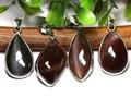☆高品質☆【天然石ペンダントトップ】スキャポライト(天然キャッツアイ) M (約14×20mm) 天然石