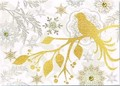PUNCH STUDIO    クリスマスカード 3Dレイヤー <鳥×シルエット>