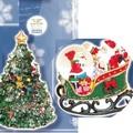【素敵なクリスマス☆】デコレーションスノードーム&オルゴールツリー