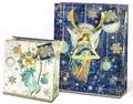 パンチスタジオ クリスマスペーパーギフトバッグ <天使> L/Mサイズ