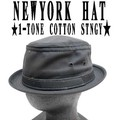 ★SQ別注アイテム!NEWYORK HAT#3061-S 1TONE COTTON STINGY 10838