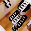 【ネコ/CAT(猫)】リニューアル/トイレマット&フタカバーセット・ペーパーホルダーカバー・スリッパ