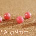 【30%OFF】【天然石 ビーズ】インカローズ 5A級 φ9mmバラ売り(ビーズ)【天然石 インカローズ】