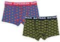 メンズ ボクサーブリーフ バットマン/スーパーマン