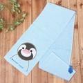【今治タオル】とべZOO ペンギン大人用マフラータオル<マフラータオルサイズ>