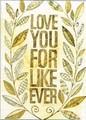 MADISON PARK GREETINGS グリーティングカード 結婚記念日用 <LOVE>