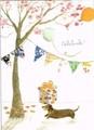 MADISON PARK GREETINGS グリーティングカード バースデー用 <犬×プレゼントBOX>