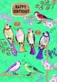 ROGER LA BORDEグリーティングカード バースデー用 <鳥×フラワー>