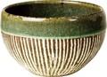 丸子呂の碗 緑ドイツ彫(まるころのわん りょくどいつぼり)